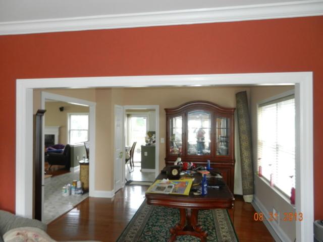 hardwood flooring custom trimwork and painting