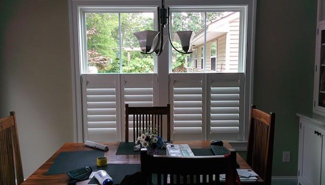 cafe plantation shutters