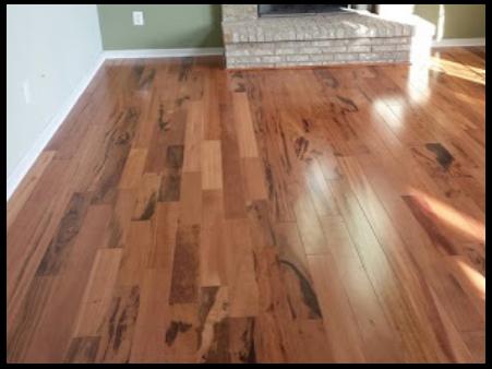 Tigerwood hardwood floors